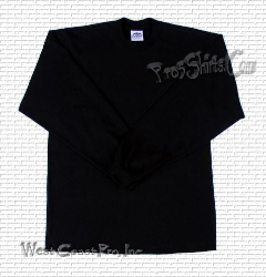 Black Pro 5 Long Sleeve T Shirts ( Single Black Tee )