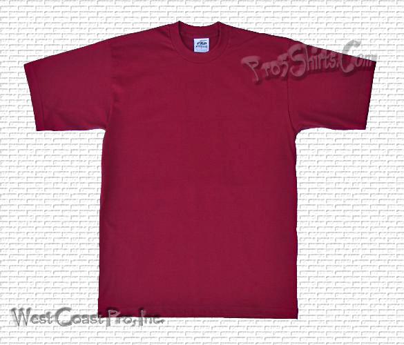951adb87 Burgundy Pro 5 T Shirts